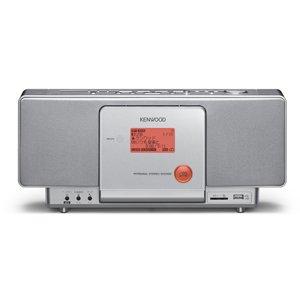 : ケンウッド CD/SD/USBパーソナルシステムコンポ シルバー CR-A7USB-S