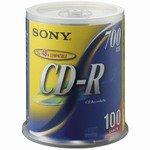 【クリックで詳細表示】ソニー(SONY) SONY 100CDQ80DNS スピンドルケース入 100