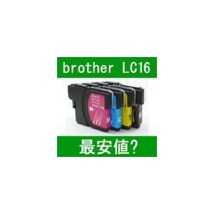 【クリックで詳細表示】互換インク brother LC16-4PK(BK/C/M/Y) 中身 ⇒ (LC16BK・LC16C・LC16M・LC16Y)