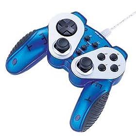 SANWA SUPPLY USBゲームパッド(クリアブルー) JY-P58UCBL