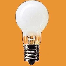 【クリックで詳細表示】Panasonic 白熱電球・ミニクリプトン 電球E17口金 100V40W形(36W) 35mm径 ホワイト2個入り LDS100V36WWK2P: ホーム&キッチン