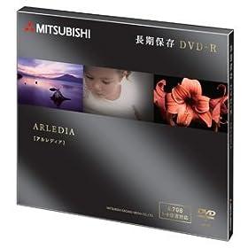 三菱化学メディア DVD-R(Data)長期保存用1回記録用4.7GB8倍速1枚10mmケース(黒)ゴールドディスク DHR47HAD1