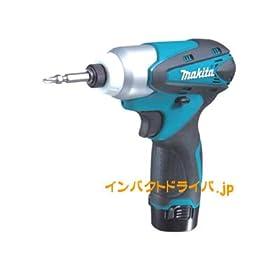 【クリックで詳細表示】マキタ 充電式インパクトドライバ 10.8V TD090DWX バッテリー2個付き: DIY・工具