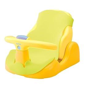 【クリックでお店のこの商品のページへ】アップリカバスチェア 赤ちゃんの気持ち 生後2ヵ月頃から使用可 (パーツ取り外し可 & やわらかマット付) 91592: ベビー&マタニティ