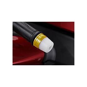 【クリックで詳細表示】Amazon.co.jp | アグラス(AGRAS) バーエンド 外径 φ32 ツーピースタイプ ベース:ホワイト/エンド:ホワイト CBR1000RR(08-10) 301-172-000GW | 車&バイク