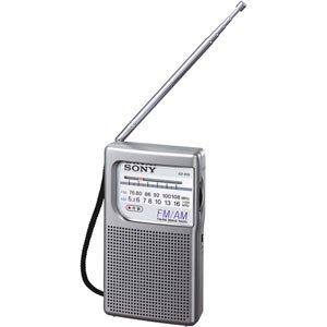 【クリックで詳細表示】ソニー FM/AMハンディーポータブルラジオ ICF-P21: 家電・カメラ