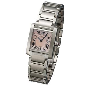 [カルティエ]CARTIER 腕時計 タンクフランセーズ ピンクシェル W51028Q3 レディース 【並行輸入品】: 腕時計通販