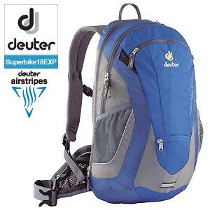 【クリックで詳細表示】deuter(ドイター) バックパック スーパーバイク18 EXP オーシャン×スティール (D32110-3741) ≪BIKE リュックサック≫