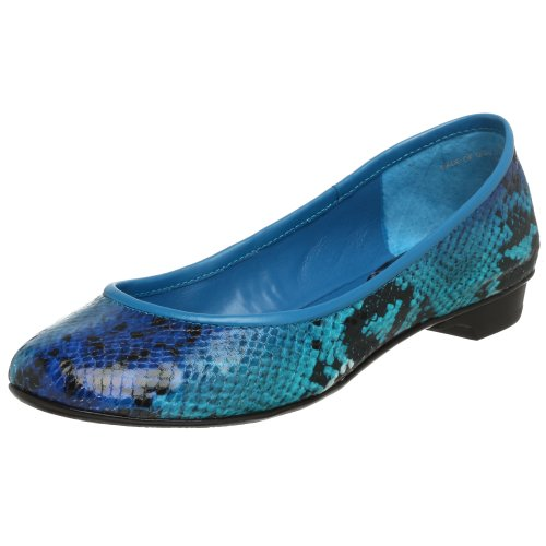 Nine West Women's Logan Flat - Free Overnight Shipping & Return Shipping: Endless.com :  blue ballet flat nine west snake