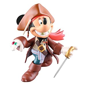 VINYL COLLECTIBLE DOLLS MICKEY MOUSE JACK SPARROW version