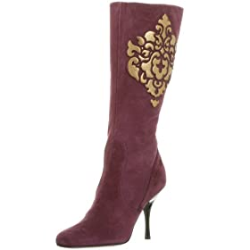 Endless.com: Isabella Fiore Women's Clover Mid Calf Boot: Categories - Free Overnight Shipping & Return Shipping :  rounded toe mid calf boot heels boots