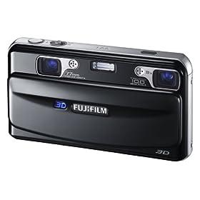 : FUJIFILM 3Dカメラ FinePix REAL ブラック F FX-3D W1