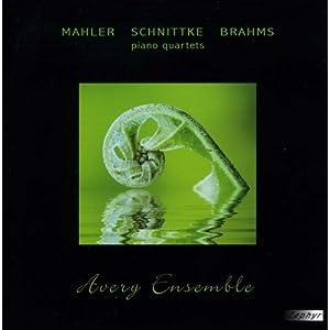 【クリックでお店のこの商品のページへ】Mahler Schnittke Brahms-Piano Quartets [Import]