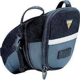 【クリックで詳細表示】Amazon   TOPEAK(トピーク) エアロウエッジ(ストラップタイプ) L BAG152/TC2262B   サドルバッグ・フレームバッグ
