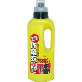 【クリックで詳細表示】作業衣専用洗剤 ジェル 800ML: ヘルス&ビューティー