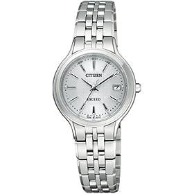 【クリックで詳細表示】[シチズン]CITIZEN 腕時計 EXCEED エクシード Eco-Drive エコ・ドライブ 電波時計 EBD75-2791 レディース: 腕時計通販