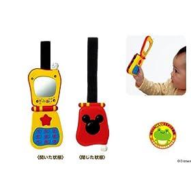 ミッキーマウス & ミニーマウス 赤ちゃんけろっとケ~タイ