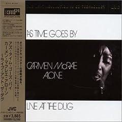 ♪アズ・タイム・ゴーズ・バイ [Live] Carmen McRae カーメン・マクレエ | 形式: CD