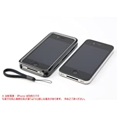 Monocoque #01 unit kit for iPhone 4 base frame(Piano black)[MQ01IP4-B] - マイクロソリューション