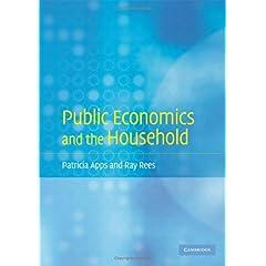 【クリックでお店のこの商品のページへ】Public Economics and the Household [ハードカバー]