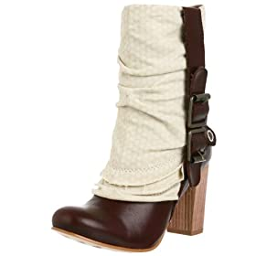 London Underground Women's Bit of Romance Boot - Free Overnight Shipping & Return Shipping: Endless.com :  leather boots london underground buckle