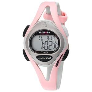 【クリックで詳細表示】[タイメックス]TIMEX 腕時計 アイアンマン トライアスロン 50ラップ スリーク ミッドサイズ ウレタンストラップ T5D601 レディース [正規輸入品]