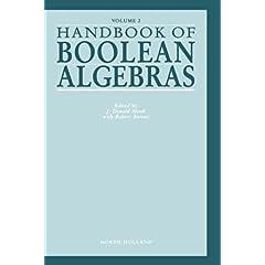 【クリックで詳細表示】Handbook of Boolean Algebras, Volume 2