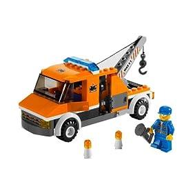 レゴの町のレッカー車
