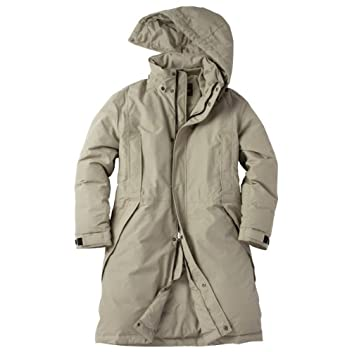 WeatherEdge Down Storm Coat: Khaki