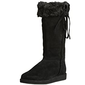 Steve Madden Women's Iceland Boot - Free Overnight Shipping & Return Shipping: Endless.com :  black boots iceland steve madden
