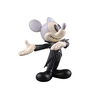 VINYL COLLECTIBLE DOLLS MICKEY MOUSE JACK SKELLINGTON ver.