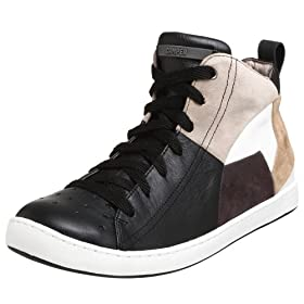 Camper Twins Leather And Suede Shoe - Free Overnight Shipping & Return Shipping: Endless.com :  patchwork leather camper twins mens