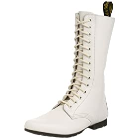 Dr. Martens Women's Stacey Boot - Free Overnight Shipping & Return Shipping: Endless.com :  endless white boots shoes