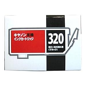 【クリックで詳細表示】BCI-320PGBK (ブラック) 互換(新品)インク