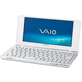 SONY VAIO typeP P50 XP Home WWAN クリスタルホワイト VGN-P50/W
