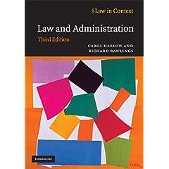 【クリックで詳細表示】Law and Administration (Law in Context) [ペーパーバック]