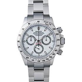 【クリックで詳細表示】[ロレックス] ROLEX 腕時計 デイトナ 116520 ホワイト メンズ [並行輸入品]