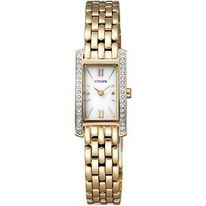 [シチズン]CITIZEN 腕時計 Citizen Collection シチズン コレクション Eco-Drive エコ・ドライブ レクタンギュラー EG2682-58A レディース