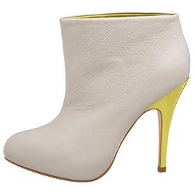 BCBG Max azria Camilla, booties with neon heel