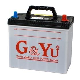 【クリックで詳細表示】G&Yu バッテリー 55B24L 【MFシリーズ 国産車】