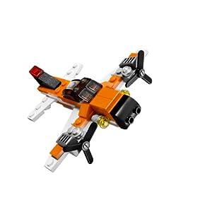 レゴブロックで作られたプロペラ機