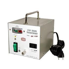 【クリックで詳細表示】日章工業 トランスフォーマSDXシリーズ(電圧ダウン)110V/120V→100V1100W SDX-1100U: ホーム&キッチン