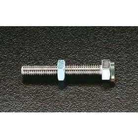 【クリックで詳細表示】M10x30mm[ウレタン付]ストッパーボールト: DIY・工具