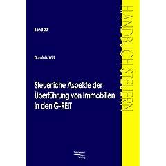 【クリックでお店のこの商品のページへ】Steuerliche Aspekte Der Aoeberfahrung Von Immobilien in Den G-reit
