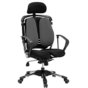 【クリックで詳細表示】HARA Chair ニーチェ グレー 30953: ホーム&キッチン