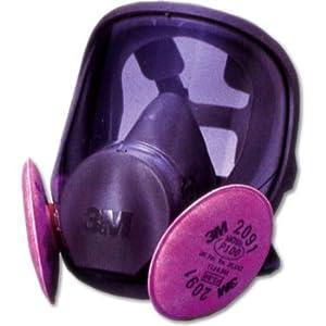 【クリックで詳細表示】3M 取替え式防じんマスク 6000F/2091-RL3 Lサイズ 6000F/2091-RL3L: 産業・研究開発用品