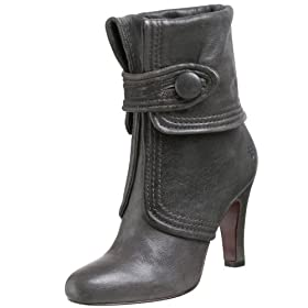 FRYE Ava Button Bootie - Free Overnight Shipping & Return Shipping: Endless.com :  ankle boot frye button gray