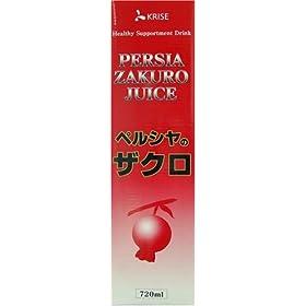【クリックで詳細表示】ペルシャザクロジュース 720ml: ヘルス&ビューティー