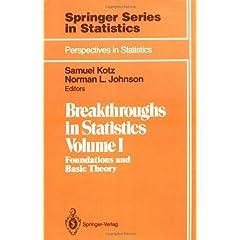 【クリックでお店のこの商品のページへ】Breakthroughs in Statistics: Foundations and Basic Theory (Springer Series in Statistics / Perspectives in Statistics): Samuel Kotz, Norman L. Johnson: 洋書