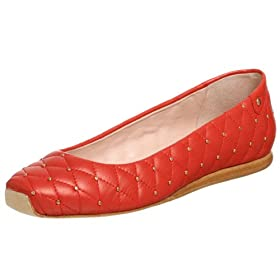 THE Red Flat! :  ballet flat red delman
